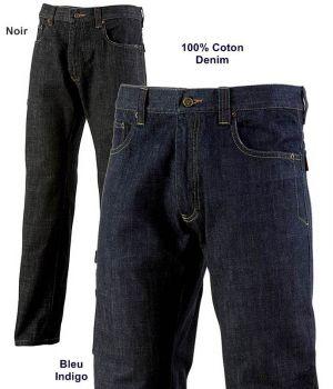 Pantalon Homme Comox Adolphe Lafont, Jeans Coton Denim