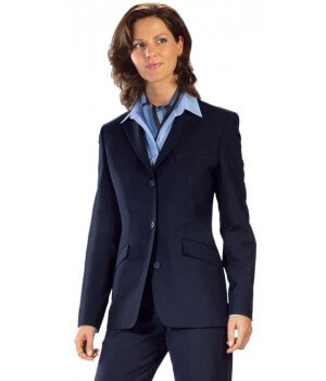 Blazer femme Premium Marine, grand confort bi-stretch, infroissable