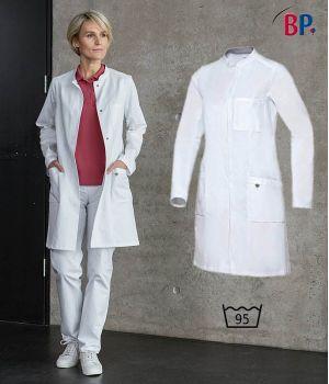 Blouse de Médecin Femme, Blanche, Liberté de Mouvement, 100% Coton