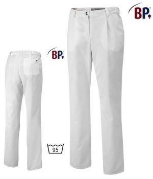 Pantalon Blanc Femme, Entretien Facile, Peut Bouillir, Coupe Confortable