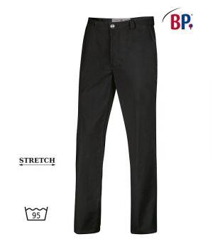 Pantalon Noir Homme, Très Élastique Grâce au Stretch, Peut Bouillir