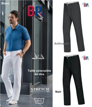 Pantalon Chino Homme, Coupe Seyante Près du Corps, Stretch