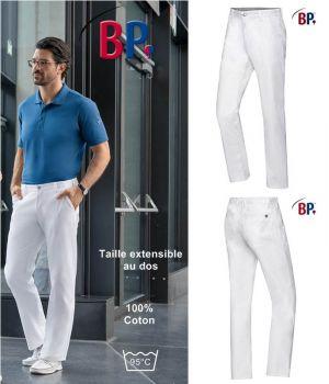 Pantalon Chino Homme, Coupe Seyante Près du Corps, 100% Coton
