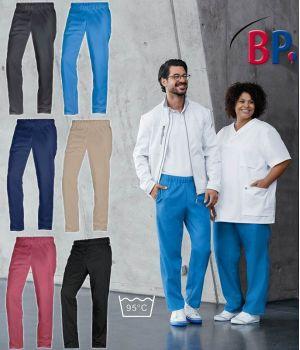 Pantalon Femme ou Homme, Entretien facile, peut bouillir, PolyCoton