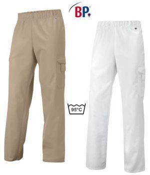 Pantalon Femme et Homme, Taille Elastiquée, Entretien Facile, Peut Bouillir