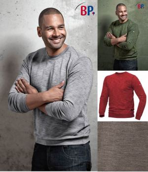 Sweat-shirt Homme et Femme, Matériau Teint par Espacement Space-Dyed
