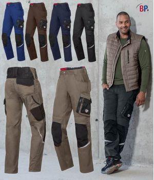 Pantalon de Travail Homme, Coupe Seyante et Ergonomique