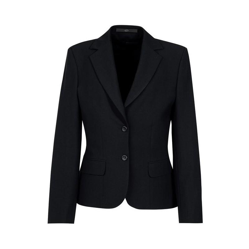blazer femme cintre noir. Black Bedroom Furniture Sets. Home Design Ideas
