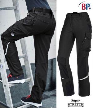 Pantalon de Travail Super Stretch Femme, Seyant et Ergonomique, Charbon