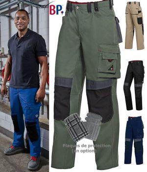 Pantalon de Travail, Grande liberté de mouvement, Coupe ergonomique et confortable