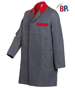 Blouse de Travail Homme Bicolore, Polyester Coton, Entretien Facile, Excellente Tenue.