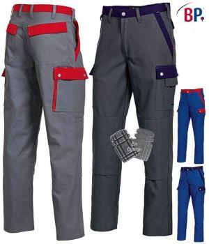 Pantalon de Travail Bicolore, Excellente Tenue et Entretien Facile