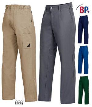 Pantalon de Travail, Élastiqué au dos, Entretien Facile, Polyester Coton