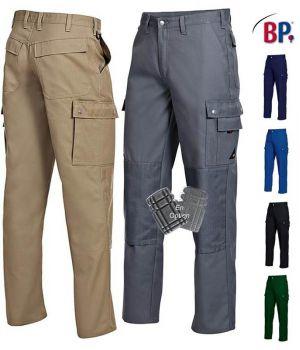 Pantalon de Travail, Coupe Jean, Facile d'Entretien, Coton Majoritaire