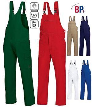 Salopette de Travail Coton, Cotte à Bretelles, Boucles clic-clac, Grand Teint