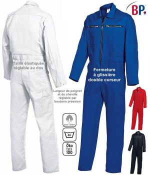 Combinaison de Travail, Garanti grand teint, 100% Coton