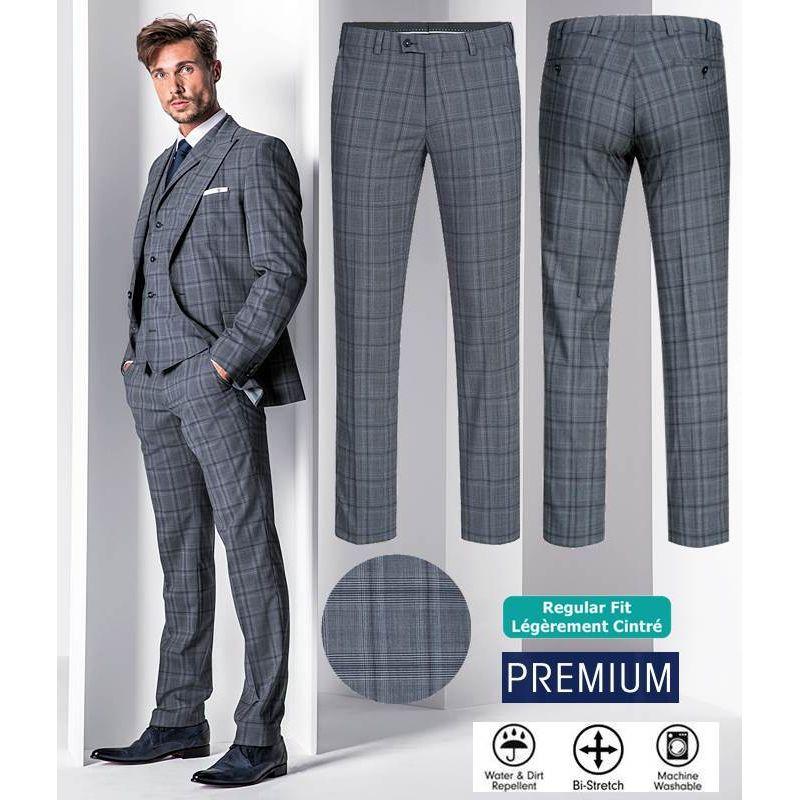 pantalon homme prince de galles