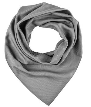 Foulard Carré Femme Gris, Lavable en machine