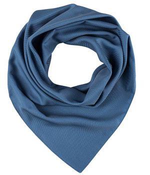 Foulard Carré Femme Bleu, Lavable en machine