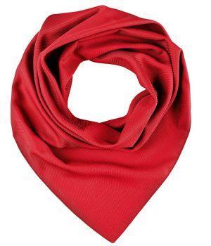 Foulard Carré Femme, Rouge, Lavable en machine