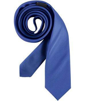 Cravate étroite Slim Line, couleur Bleu roi, lavable