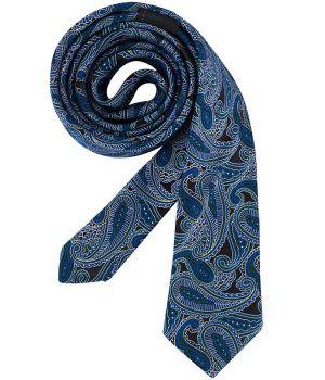 Cravate étroite Slim Line, couleur Cashmere Bleu foncé, lavable