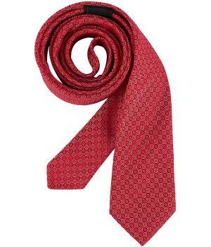Cravate étroite Slim Line, Couleur Rouge, lavable