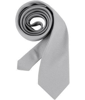 Cravate grise, lavable