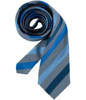 Cravate rayures bleues, lavable