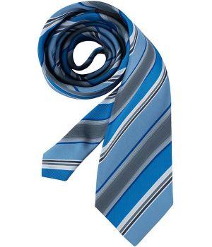 Cravate, rayures bleu et gris, lavable