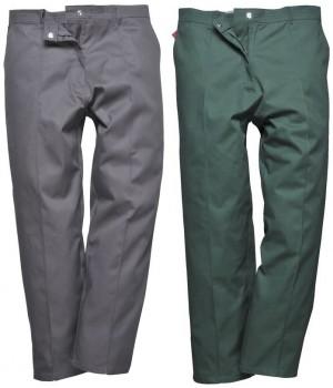 Pantalon de travail femme polyester coton, confortable et durable