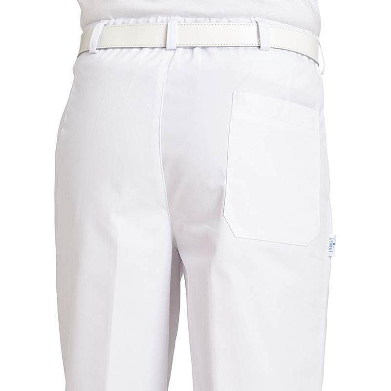 Pantalon Homme À DosPeut Élastique Au Blanc PincesTaille Bouillir R34A5jL
