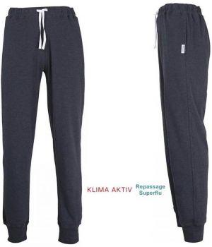 Pantalon d'intérieur ou de pyjama, Coton et Microfibre Confort, Bleu foncé