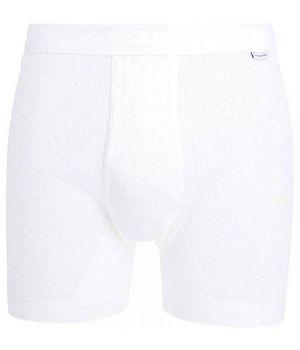 Boxer Blanc Homme Ceceba, Coton peigné ultra doux, Ceinture élastique confortable