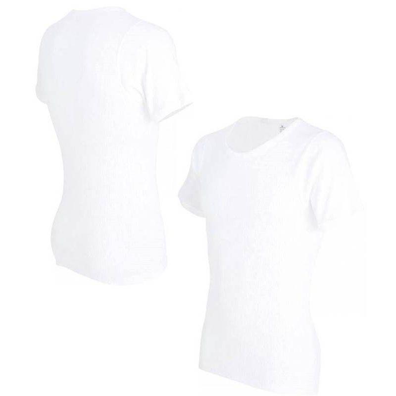 Maillot De RondCoton T Corps Shirt Doux Peigné Ultra HommeCol Blanc 76gfvbIYy