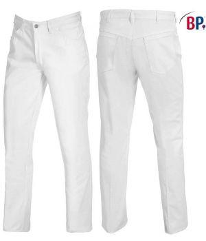 pantalon blanc femme et homme jean 100% coton, Taille 32 pouces.