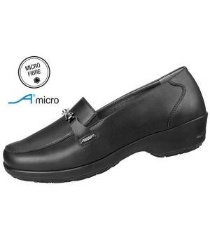 Chaussures Femme, Dessus Microfibre, Élastique à l'empeigne, Talon Bas