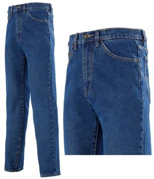 Jean de travail Adolphe Lafont, Denim 100% coton stone washed