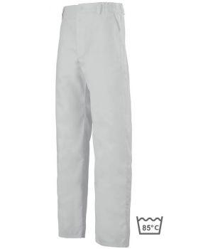 Pantalon blanc homme, PolyCoton, Adolphe Lafont Clemix
