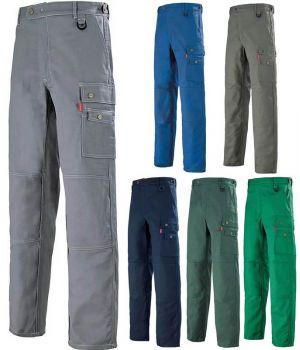 Pantalon de travail Adolphe Lafont, Kaki Taille 48