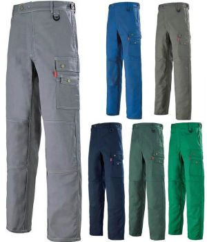 Pantalon de travail Adolphe Lafont, confort et résistance, nombreuses poches