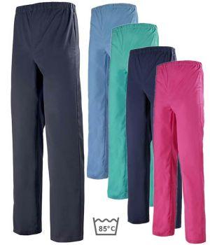 Pantalon médical couleur, homme ou femme, A. Lafont, Taille élastiquée