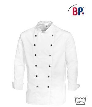 Veste Cuisinier, Manches avec manchettes, Peut bouillir, polyester coton