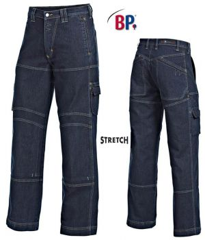 Pantalon homme et femme jean bleu Denim, Stretch confort