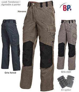 Pantalon Worker WorkFashion, Nombreuses Poches, Tendance et Fonctionnel