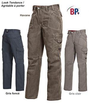 Pantalon Worker WorkFashion, Nombreuses Poches, Mode et Fonctionnel
