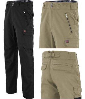Pantalon de Travail Adolphe Lafont, Dos Ajustable, Poches Devant et Dos
