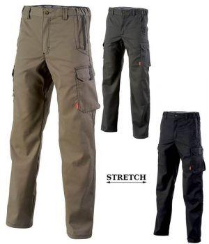 Pantalon de Travail Adolphe Lafont, Modèle Chinook, Ceinture élastiquée côtés