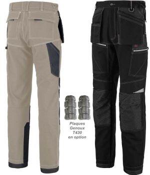 Pantalon de Travail Adolphe Lafont, Modèle Copper, Poches Volantes