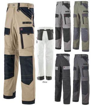 Pantalon de Travail Professionnel Adolphe Lafont Ruler, Renforts genoux